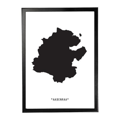 Landkort-aabenraa 1