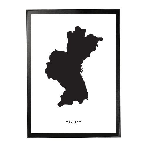 Landkort-århus 1