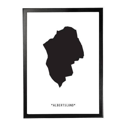 Landkort-Albertslund 1