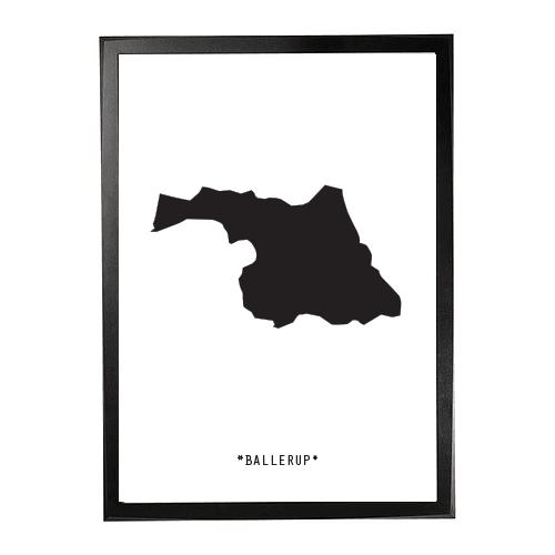 Landkort-Ballerup 1