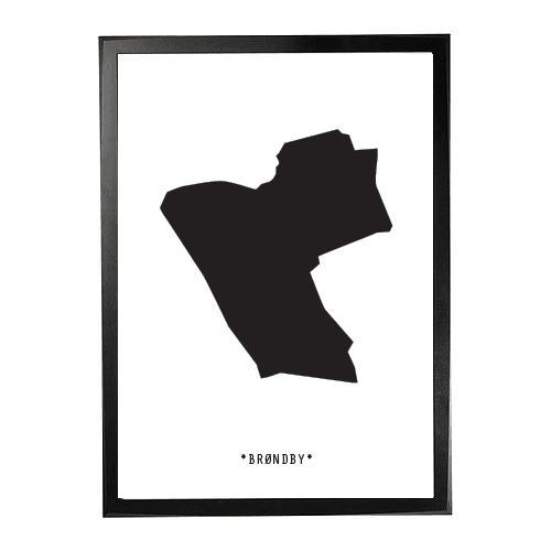 Landkort-Brøndby 1