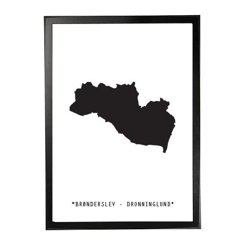Landkort-Broenderslev 1