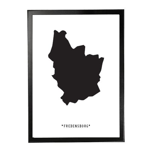 Landkort-Fredensborg 1