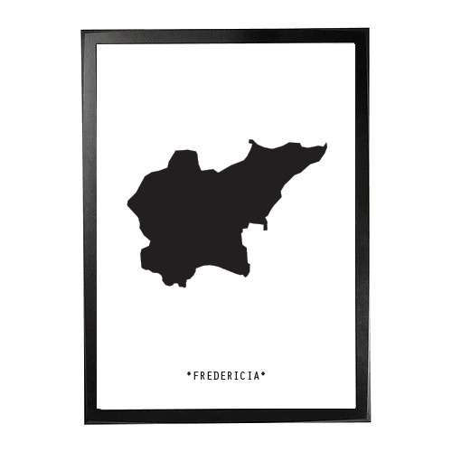 Landkort-Fredericia 1