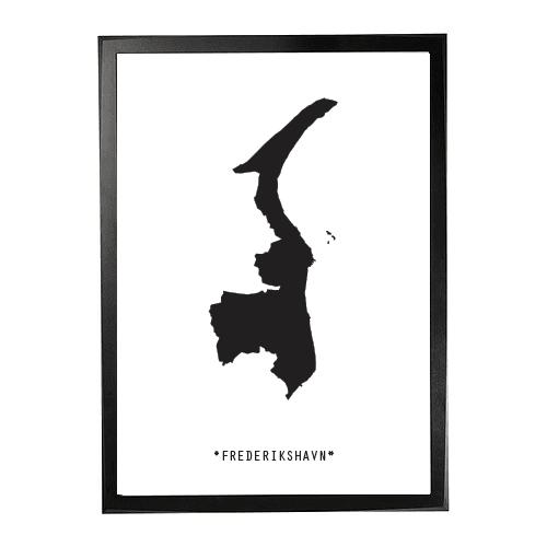 Landkort-Frederikshavn 1