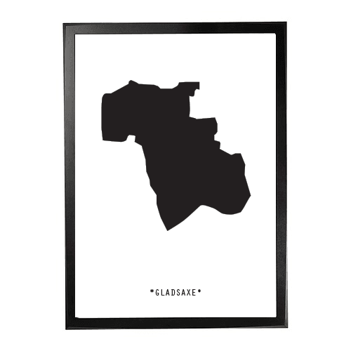 Landkort-Gladsaxe 1