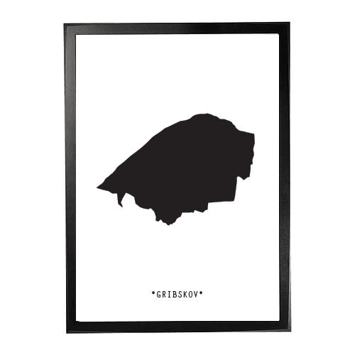 Landkort-Gribskov 1