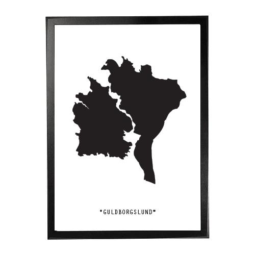 Landkort-Guldborgslund 1