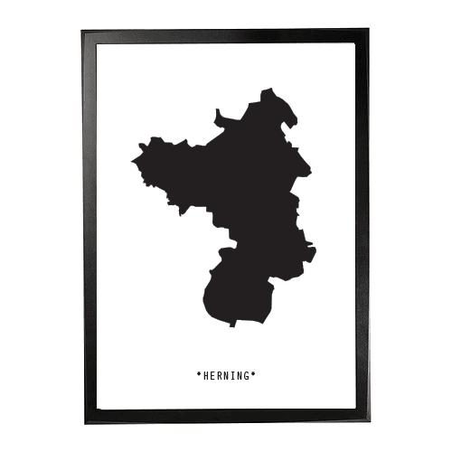 Landkort-Herning 1