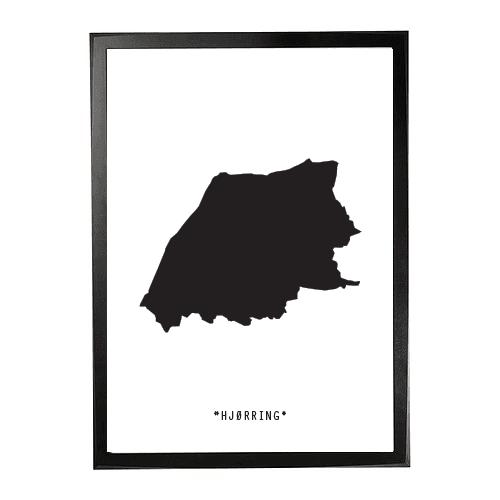 Landkort-Hjørring 1