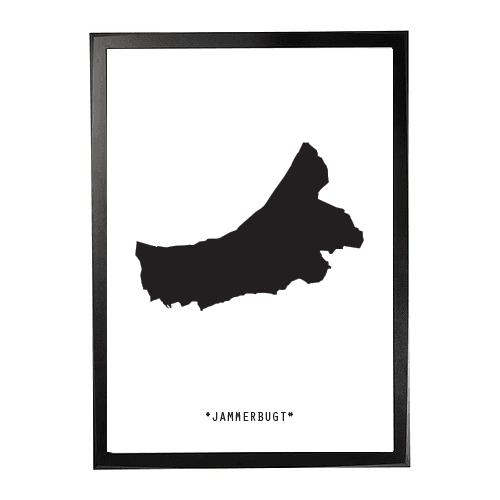 Landkort-Jammerbugt 1