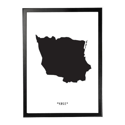 Landkort-Køge 1