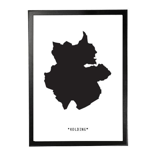 Landkort-Kolding 1