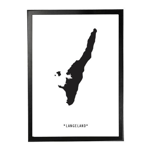 Landkort-Langeland 1