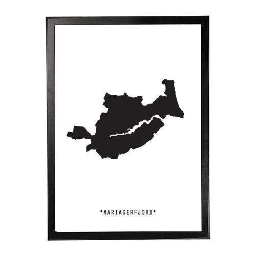 Landkort-Mariagerfjord 1