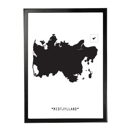 Landkort-Midtjylland 1