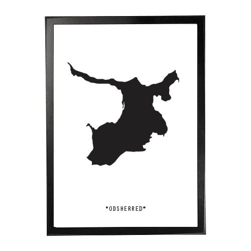 Landkort-Odsherred 1