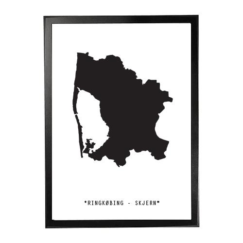 Landkort-Ringkøbing-Skjern 1