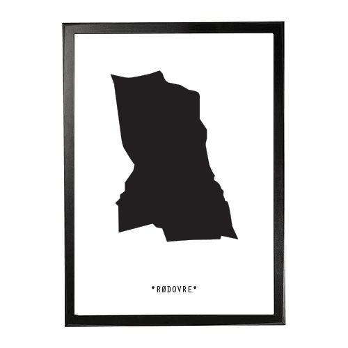 Landkort-Rødovre 1