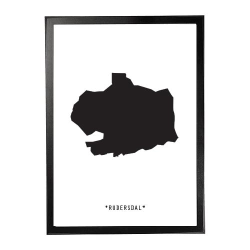Landkort-Rudersdal 1