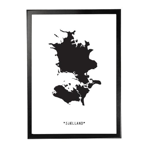 Landkort-Sjælland 1