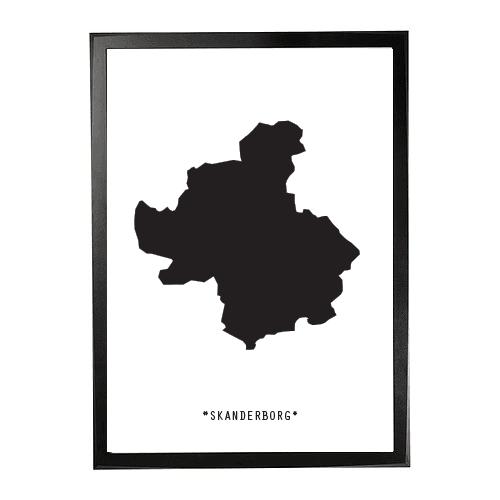 Landkort-Skanderborg 1