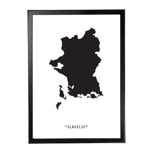 Landkort-Slagelse 1