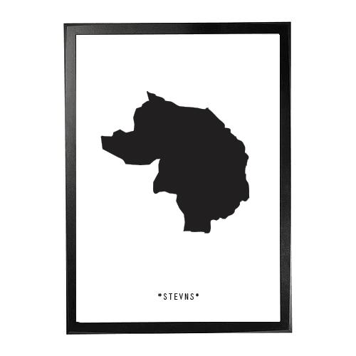Landkort-Stevns 1