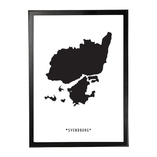 Landkort-Svendborg 1