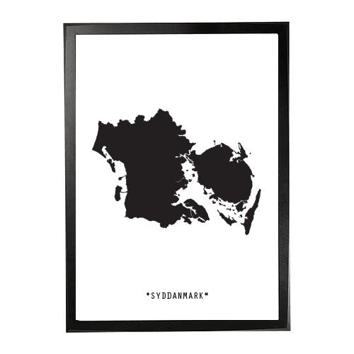 Landkort-Syddanmark 1
