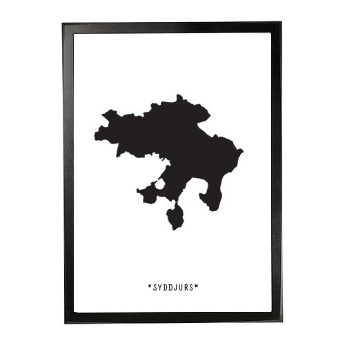 Landkort-Syddjurs 1