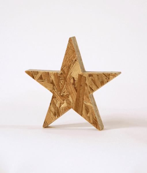Stjerne 30mm OSB 1