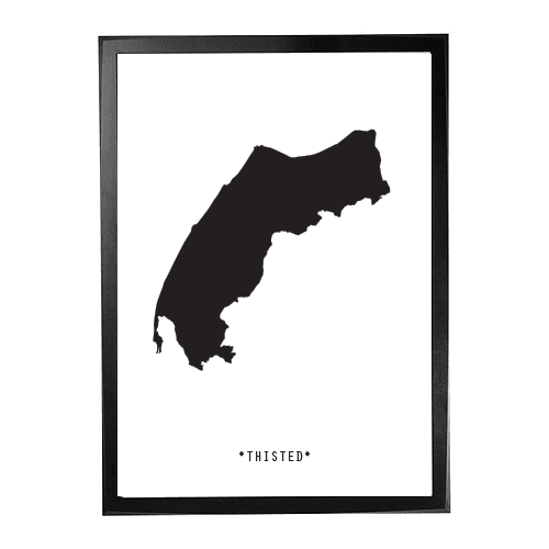 Landkort-Thisted 1