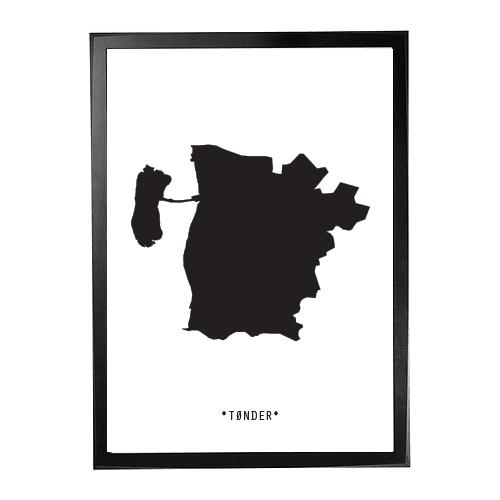 Landkort-Tønder 1