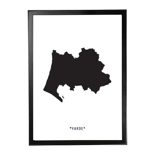 Landkort-varde 1