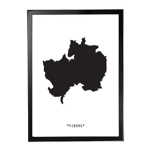 Landkort-viborg 1