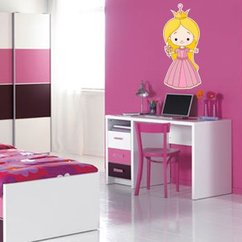 Wallstickers Prinsesse 1