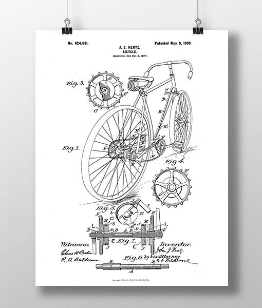 Bicycle Patent | Plakat 1