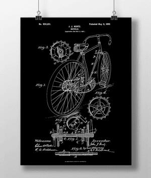 Bicycle Patent | Plakat 3