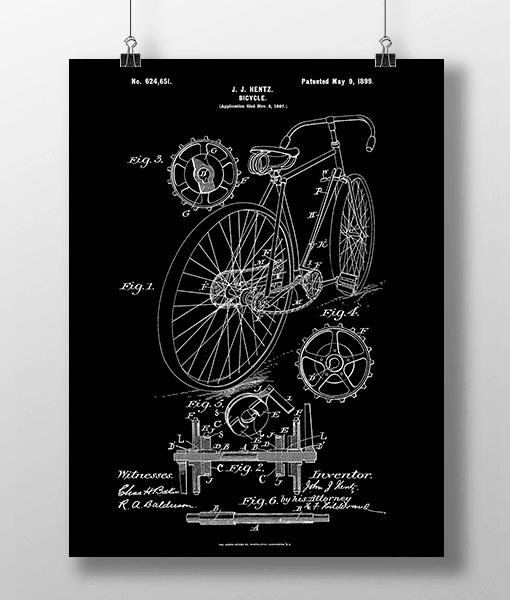 Bicycle Patent | Plakat 2