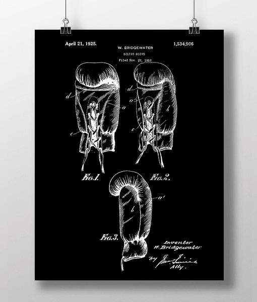Boxing Glove Patent | Plakat 1