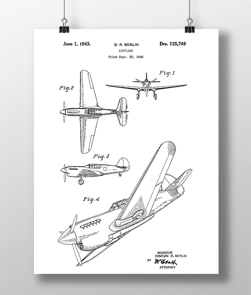 Fly Patent | Plakat 1