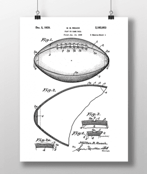 Football 1 Patent | Plakat 3