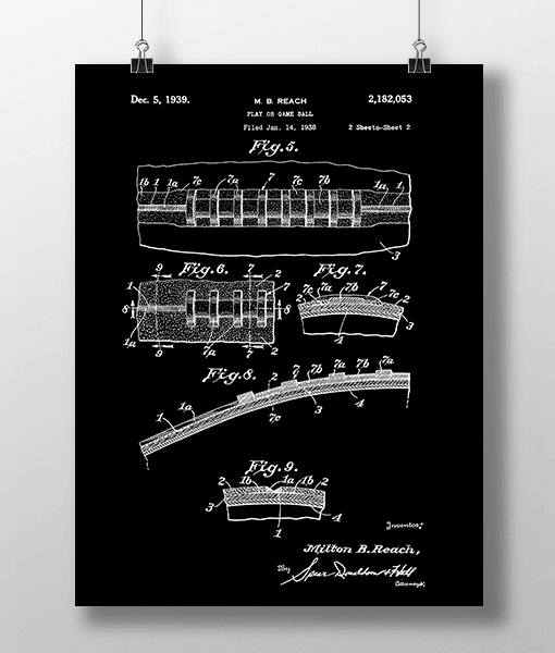 Football 2 Patent   Plakat 2