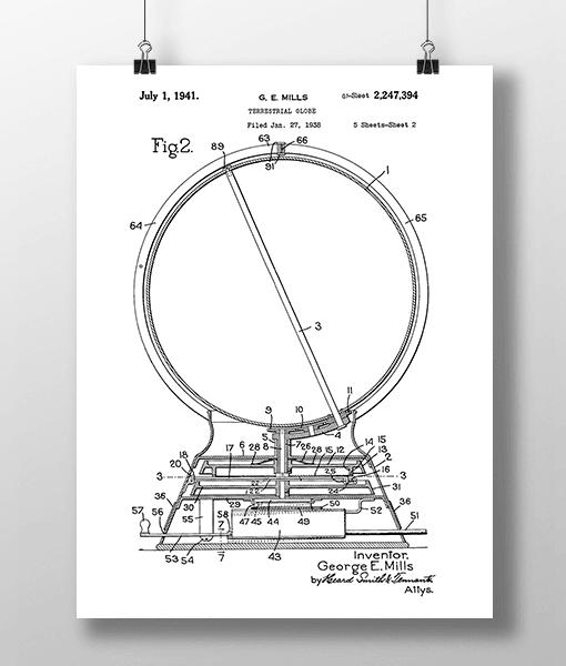 Globus 2 Patent | Plakat 1