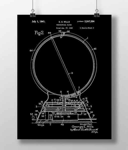 Globus 2 Patent | Plakat 2