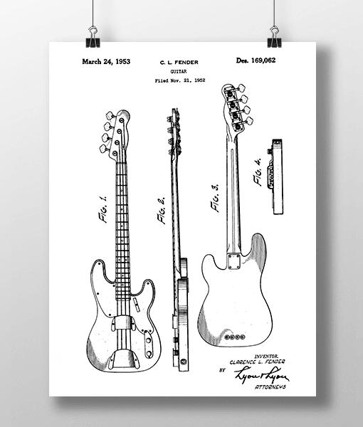 Guitar 2 Patent | Plakat 1
