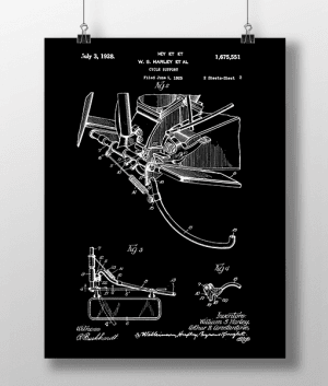 Harley Cycle 2 Patent | Plakat 3