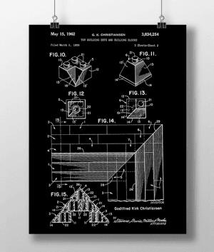 Lego Klodser 4 Patent | Plakat 3