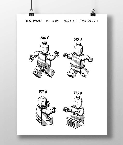 Lego Figur 2 Patent | Plakat 1